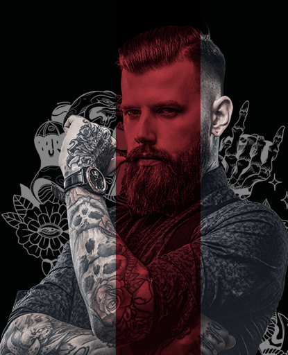 mobile banner mosaico - Force Barber